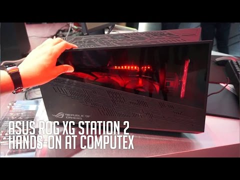 ASUS XG Station 2 Hands-on and Initial Impressions