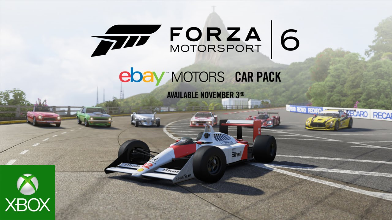 eBay Motors Car Pack Arrives Tomorrow for Forza Motorsport 6 - Xbox Wire