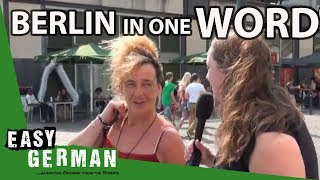 Berlin in one word   Easy German 23