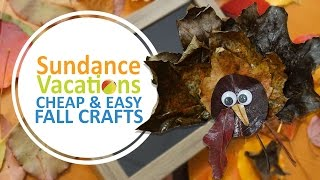 EASY Leaf Fall Crafts For Kids (DIY Crafts) By Sundance Vacations