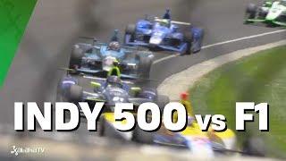 Indy 500 vs Formula 1