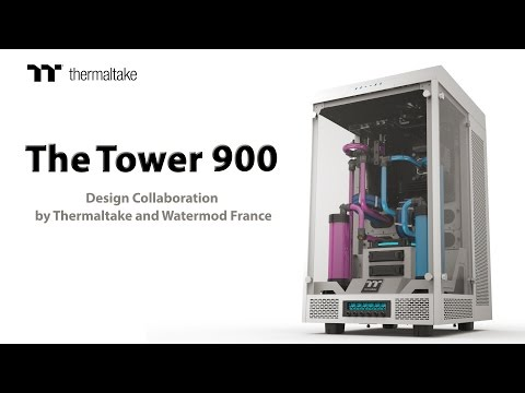 Thermaltake The Tower 900 Snow Edition (Big Tower)