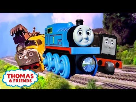 Racers on the Rails Compilation + New BONUS Scenes!   Thomas & Friends