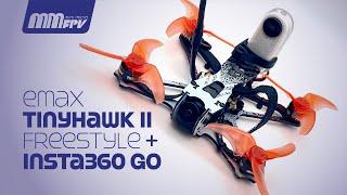 Emax Tinyhawk II Freestyle + Insta360 GO