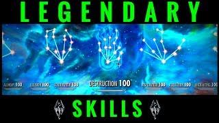 Skyrim | Legendary Skills