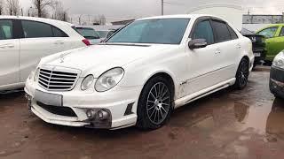 600 тысяч  рублей за оригинально наколхоженый Мерен 2005 года ! Mercedes E Class Wald Black Bison!