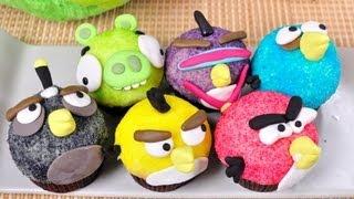 แองกี้เบิร์ดคัพเค้ก | Angry Bird Cupcake