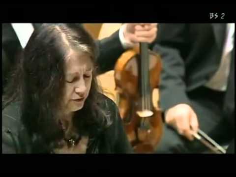 Martha Argerich - W.A. Mozart Concerto in D min. K.V. 466