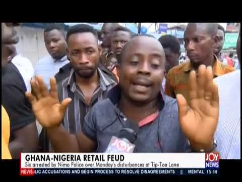Ghana-Nigeria Retail Feud - The Pulse on JoyNews (2-12-19)