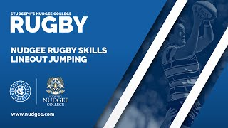 Nudgee Rugby Skills – Lineout Jumping