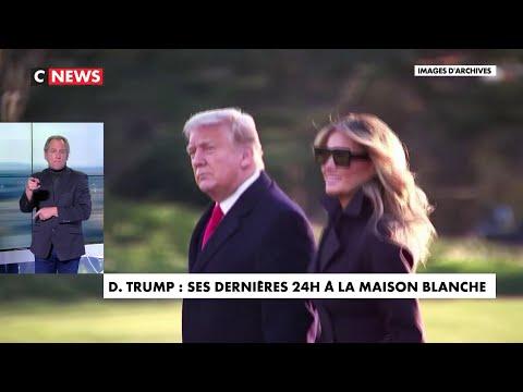 Donald Trump : ses dernières 24 heures à la Maison Blanche Donald Trump : ses dernières 24 heures à la Maison Blanche