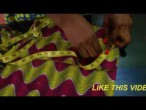 HOW TO SEW A ZIG ZAG FUNNEL SLEEVE
