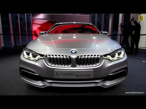2015 BMW 4-Series Coupe - Exterior and Interior Walkaround - Debut at 2013 Detroit Auto Show