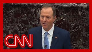 Watch Schiff's closing argument in impeachment trial of President Trump