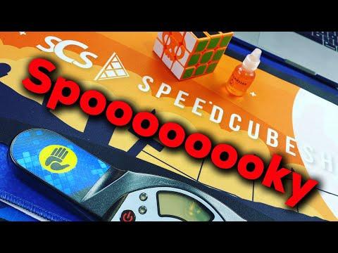 Spooky Cube, Mat & Scented Jack O Lantern Lube | SpeedCubeShop