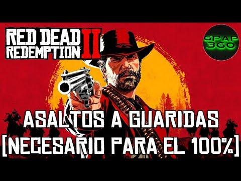 Red Dead Redemption 2 | Localización Asaltos a guaridas (Necesario para el 100% del modo historia)