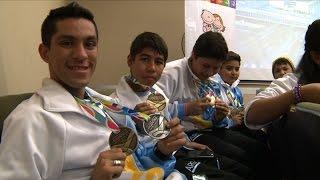 Hospital Garrahan reconoció a trasplantados que participaron en juegos mundiales de Mar del Plata