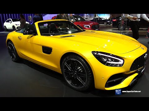 2020 Mercedes AMG GT Roadster - Exterior and Interior Walkaround - 2020 Brussels Auto Show