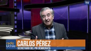 """Carlos Pérez: """"El centro debe recuperar el sano juicio político"""""""