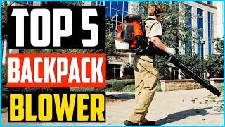 Top 5 Best Backpack Blower in 2020