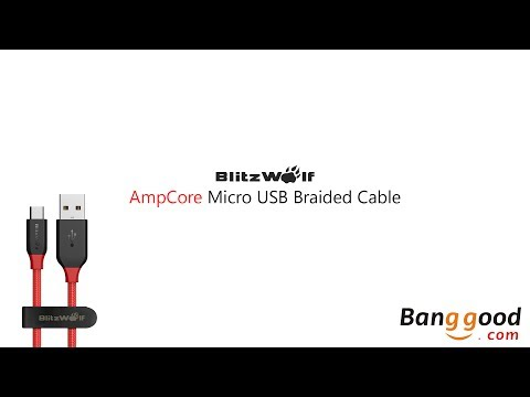 Unboxing - Cabo Micro USB BlitzWolf® Ampcore BW-MC4 2.4A