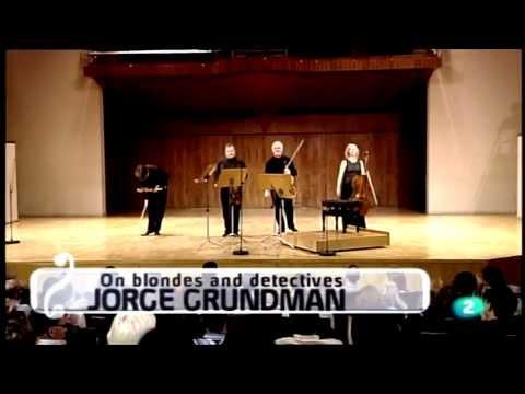 Brodsky Quartet. On Blondes and Detectives by Jorge Grundman