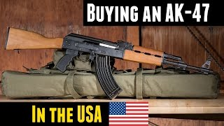 Video Buying An AK47 In The USA