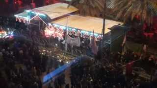 preview picture of video '05-Dec-2011 Karbala - Muharram processions recorded from Hotel Firdaus'