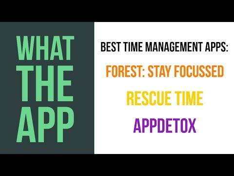 Best Time Management Apps for Android | What The App