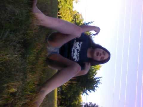 Me doing gymnastics (badly)
