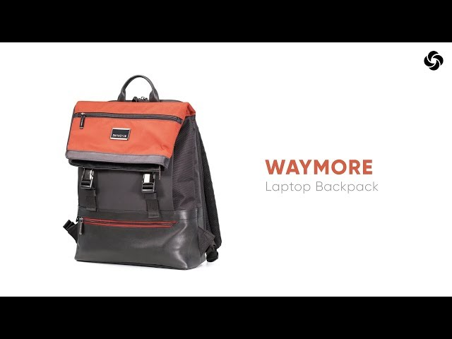 "Waymore PC-ryggsekk 15.6"" video 1"
