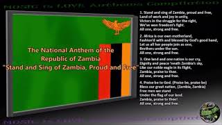 Zambia Russian National Anthem