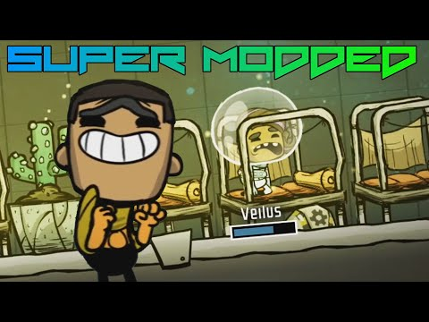 Atmo Suits With Little Lights! Super Modded Oxygen Not Included EP5