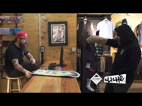 Chaz Pulls a Robbery at The Boardr Store, Gets Paid in Paul Hart Skateboards