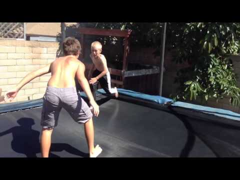 Download WWE Tag Team Match (Trampoline) HD Mp4 3GP Video and MP3