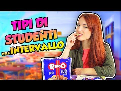TIPI DI STUDENTI NELL'INTERVALLO
