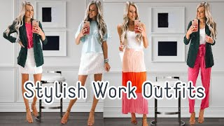How To Dress For Work Chic 9-5 Style | Stylish Work Outfits 2020