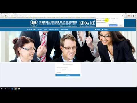 Hướng dẫn đăng ký tài khoản làm bài Test Online - UEH - Đại Học Kinh Tế TP.HCM