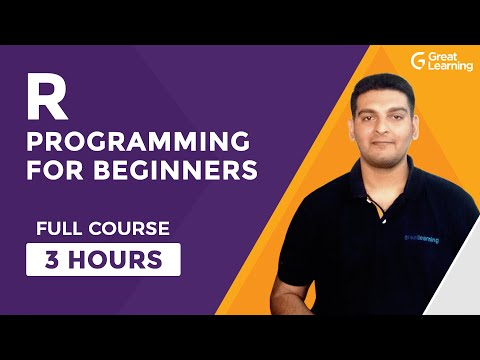 R Programming For Beginners-Full Course   Learn R in 3 Hours  R Language Tutorial   Great Learning
