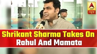 UP minister Shrikant Sharma takes on Congress, Mamata Banerjee