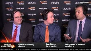 Pro Tour Magic Origins Round 16 (Standard): Mike Sigrist vs. Bryan Gottlieb