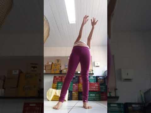 fazendo ginastica