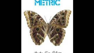 Metric   Help I'm Alive (Album Version)