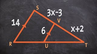 Using Similar Triangles To Find The Measure Of X