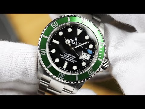 Rolex Submariner 16610LV 'Kermit' 50th Anniversary Edition - Unboxing & Review