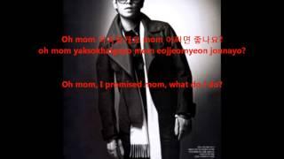 TOP - Oh Mom eng sub & hangul/rom