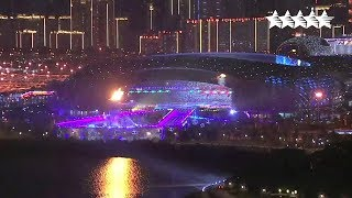 Video : China : The 26th Summer Universiade in ShenZhen 深圳 - Opening Ceremony