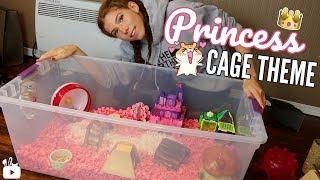Princess Hamster Cage Theme! 👑