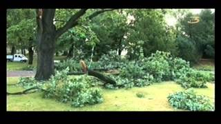preview picture of video 'Unwetter Freiberg, Sachsen (21. August 2012).avi'