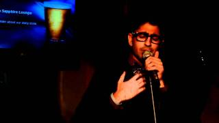 Anoop Desai Performing Lost and Found at NYC Showcase at Sapphire Lounge 12/8/10